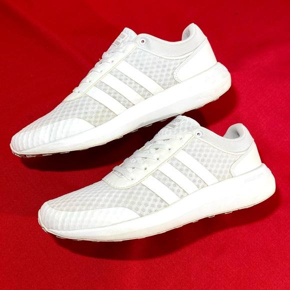 ADIDAS CLOUDFOAM RACE men sneakers white 10.5